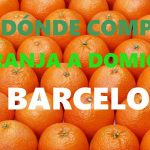 DÓNDE COMPRAR NARANJAS A DOMICILIO EN BARCELONA?